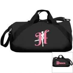 Monogrammed H dance bag
