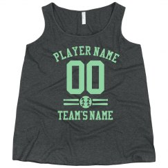 Customizable Baseball Team & Number