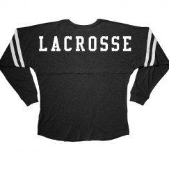 Sporty Lacrosse Long-Sleeve Slub