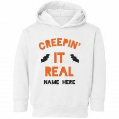 Creepin' It Real Halloween Sweatshirts