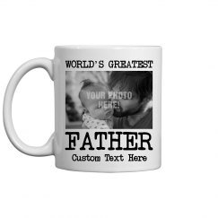 World's Greatest Father Custom Photo