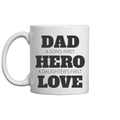 Father's Day Son Daughter Hero Love