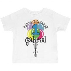 1 year old! Gabriel