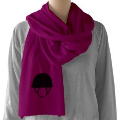 Riding Helmet Scarf