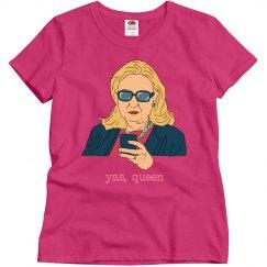 Yas Queen Hillary