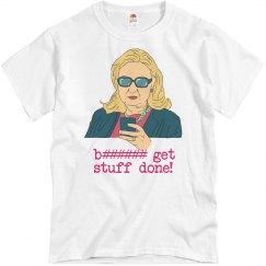 Hillary Gets Stuff Done