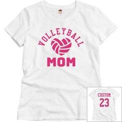 Volleyball Mom Custom Player Name