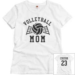 Volleyball Mom Add Name & Number