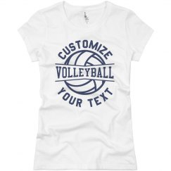 Create Your Own Volleyball Team Tee