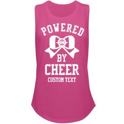 Powered by Cheer Long-Sleeve Slub