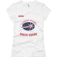 Georgia Sparks Cheer Squad / Junior T