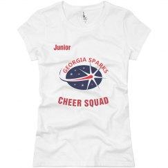 Georgia Sparks Cheer Squad / Junior T