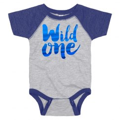 Metallic Wild One Onesie