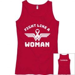 Fight Like a Wonder Woman/ team Natasha (women's)