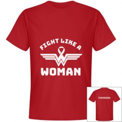 Fight Like A Woman/ Team Natasha (Unisex)