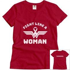 Fight Like a Woman/ Team Natasha (women's)