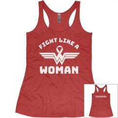Fight Like a Woman/ team Natasha (women's)
