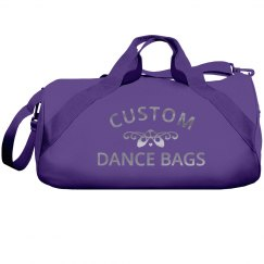 Silver Metallic Custom Dance Bag