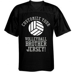 Custom Volleyball Brother Tee