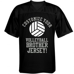 Custom Volleyball Brother Tee