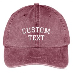 Create your Own Baseball Cap
