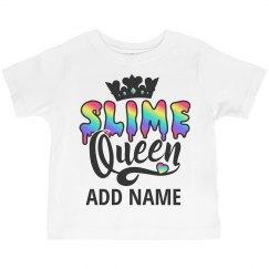 Custom Little Girl Gift Slime Queen
