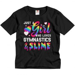 Girl Who Loves Gymnastics & Slime