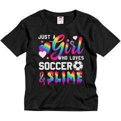 Soccer Slime Gift For Preteen Girls