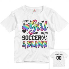 Custom Name/Number Soccer & Slime