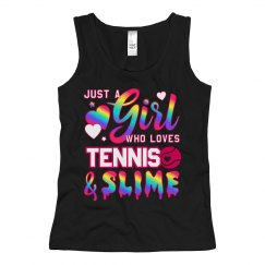 Cute Little Girl Tennis Player Gift