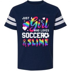 Soccer & Slime Cute Girls Gift