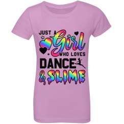 Little Girls Dance Gift Love Slime