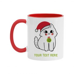Cute Custom Kitty Gift Mug