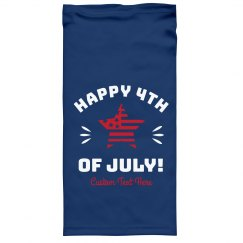 Happy July 4th Custom Face Gaiters