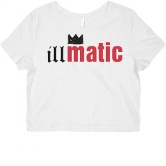 Illmatic Crown Crop Top