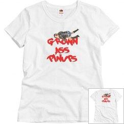 GROWN ASS PINUPS WOMEN T-Shirt ft TH3 M3XXXICAN