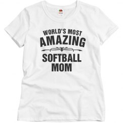 Amazing softball mom