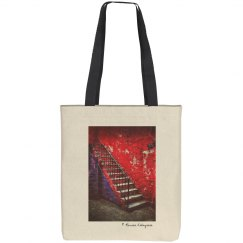 Red stairs (tote bag)