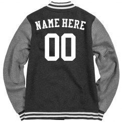 Custom Team Name Number Letter Jacket