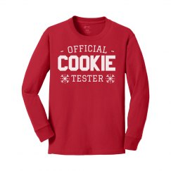 Certified Cookie Tester Youth Tee