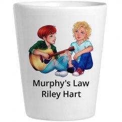 Murphy's Law Shot Glass