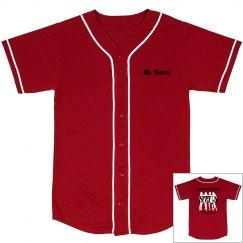 Baseball Jersey - Red