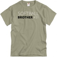 Softball Brother Custom