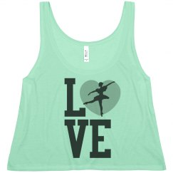 Love To Dance Crop