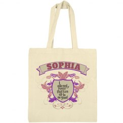 Sophia up to no good