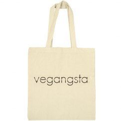 vegangsta canvas bag
