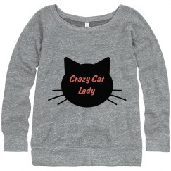 Crazy Cat Sweatshirt 2