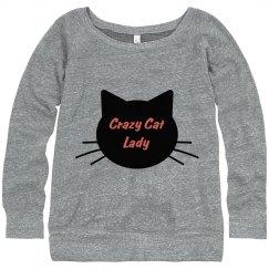 Crazy Cat Sweatshirt 2