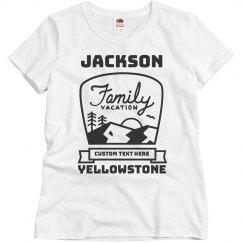 Custom Family Vacation Vintage Tees