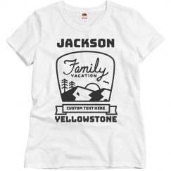 Custom Family Vacation Vintage Tees